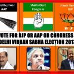 A Quick Review of Delhi Elections 2013