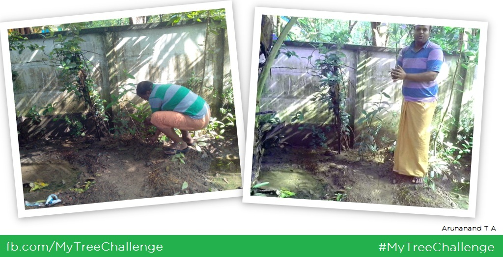 My Tree Challenge (MTC) - Arunanand T A