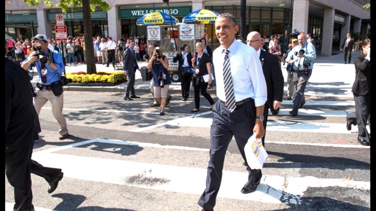 Obama Walking Confidence